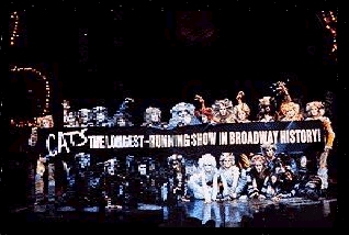 The longest  running Broadway musical ever!